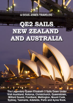 QE2 Sails New Zealand and Australia